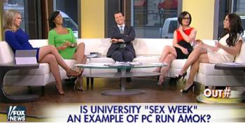 'Women Of The Fox News Sofa' Shocked By Sexy 'Tax Funded Promiscuity!'