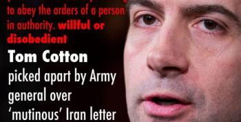 'Traitor Tom' Cotton Leads Stupid Twitter Oppo On Gitmo