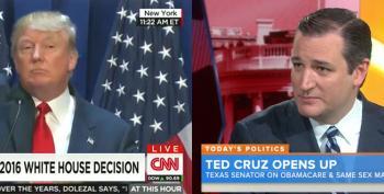 Trump Calls Cruz 'Dishonest' And 'A Liar'