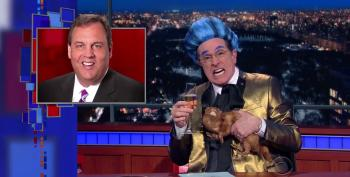 Stephen Colbert Bids Adieu To Christie, Santorum, Fiorina, And That Other Guy