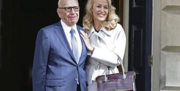 Rupert Murdoch And Jerry Hall Are Married