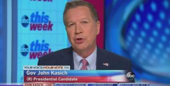 John Kasich Blames Free Trump Media Blitz For His Low Numbers