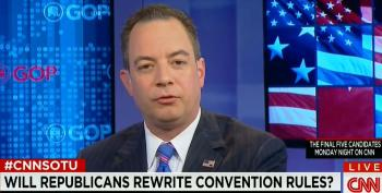 RNC Chair Priebus: 'The Minority Of Delegates Doesn't Rule For The Majority'