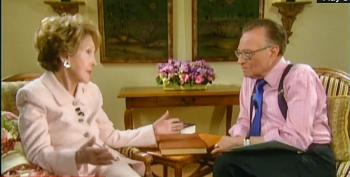 Larry King: Nancy Reagan Told Me She Was 'Very Upset' About The 2016 Race Before She Died