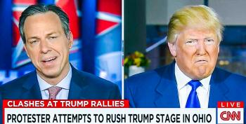 Trump Snaps At Tapper For Asking Him To Stop 'Inciting Violence': 'Do What You Have To Do'