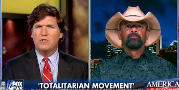 Fox's Extremist Sheriff Clarke Suggests Protesters Should Be 'Hit First And Hit Hard'