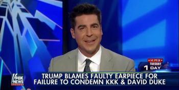 Fox's The Five Defend Donald Trump's Refusal To Disavow David Duke And The KKK