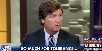 Now Tucker Carlson Says You 'Can't Hit People' At Trump Rallies