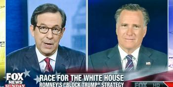 Chris Wallace Calls Out Romney For 'Legitimizing' Trump When He Was A 'Birther' In 2012