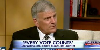 Franklin Graham Campaigns For Christian Theocracy In America