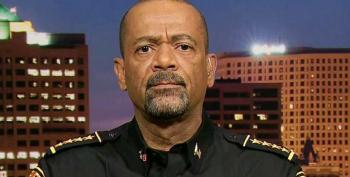 Wingnut Sheriff Clarke Urges Trump To Keep His Supporters At 'A Fever Pitch'
