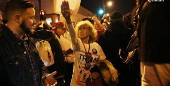 Trump Supporters Falsely Identify Sanders Volunteer In 'Heil Lady'  Photo