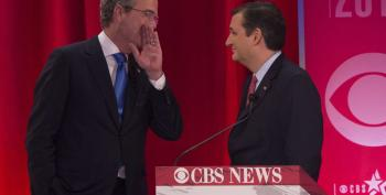 The Agony Of Defeat:  Jeb! Endorses Cruz