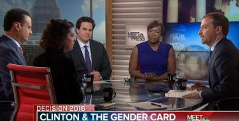 Meet The Press Panel 'Covers' Sexist Coverage Of Clinton - Without Mentioning Joe Scarborough?
