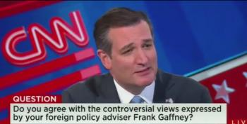 Ted Cruz Plays Dumb About Frank Gaffney's Hateful Rhetoric