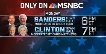 MSNBC Democratic Town Halls Open Thread