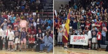 Indiana's Andrean High School Basketball Fans Chant 'Build A Wall' At Latinos