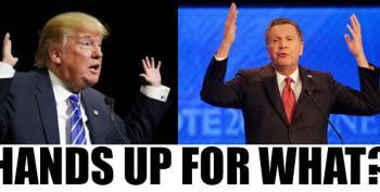 MSNBC Kasich / Trump Town Halls Open Thread