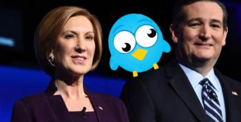 Fiorina Endorses Cruz; Twitter Can't Stop Laughing.