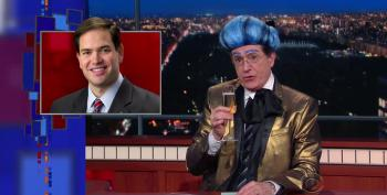 Colbert Bids Adieu To 'Sweet Marco'