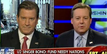 Ed Henry Tells Eric Bolling He's Wrong, Bono's Right On Fixing Poverty To Combat Extremism