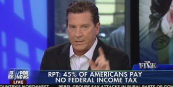Eric Bolling Upset That Rich People Pay Their Fair Share In Taxes