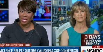 Joy Reid Schools GOP Pundit: Tea Party Protesters Were Well-Financed
