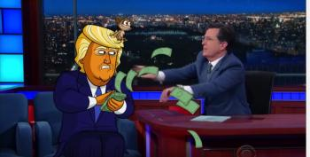 Colbert:  Cartoon Trump Promises Razzmatazz For RNC