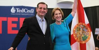Eeek!  Ted Cruz Vetting Carly Fiorina For Vice