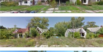 Open Thread - The End Of A Middle Class Neighborhood In 4 Photos