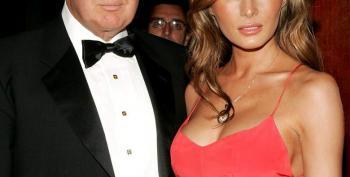 Trump Woos The Ladies With His Wife Melania