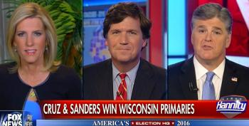 Sean Hannity 'Humbly' Suggests Viewers Not 'Waste' Time Watching Bernie Sanders' WI Victory Speech Online