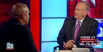 Bill O'Reilly Whitesplains To Tavis Smiley That Donald Trump Is Not A Racist