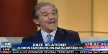 Geraldo Tells Fox And Friends: 'Maybe Hillary's Just Right About Race'