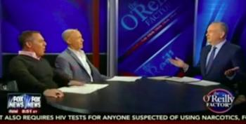 Watch Bill O'Reilly's Reaction When He Gets Called Out For Being BFFs With Donald Trump