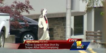 Police Shoot Man In Panda Suit After Bomb Threat To Baltimore TV Station (Updated)