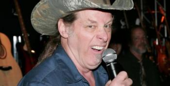 Ted Nugent Promotes Fake Racist '2 N*ggers And A Stolen Truck' Moving Van