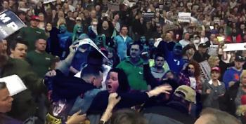 Fight Breaks Out At Trump Rally, Another Black Man Is Attacked