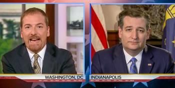 Chuck Todd Hammers Cruz For Dodging Every Question: 'This Is Exactly What People Hate'