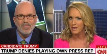 Wingnut Surrogate Pretends Trump's Alter-Ego Publicists Were Real