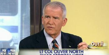 Oliver North Claims That The U.S. Air Force Is 'Tiny'