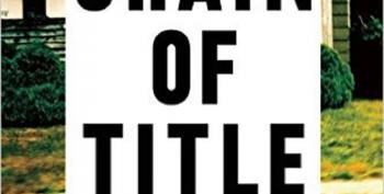 David Dayen's 'Chain Of Title' Wins Ida And Studs Terkel Prize