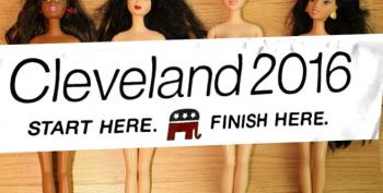 Art Exhibit:  'Live Nude Girls' Outside The RNC In Cleveland