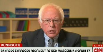 Sanders Says He's Backing DNC Chair's Primary Opponent