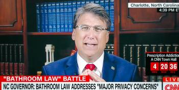 McCrory Wants Congress To 'Revisit' The 1964 Civil Rights Act To Permit Segregated Bathrooms