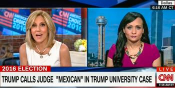 'He's American': CNN Host Smacks Down Katrina Pierson After Trump Calls Judge 'Mexican'