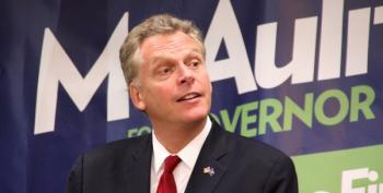 VA Governor McAuliffe Reportedly Under FBI Investigation