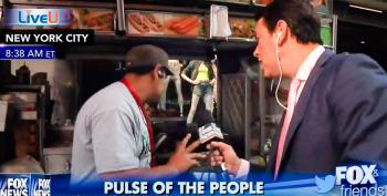 Rejected On Live TV: Times Square Hot Dog Vendor Shuts Down Stand To Avoid Fox & Friends