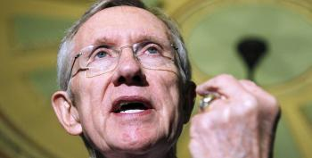 Harry Reid Rips Mitch McConnell: 'Assume He Agrees With Trump's View That Women Are Dogs And Pigs'