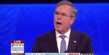 Jeb Bush Congratulates, Then Trashes Donald Trump